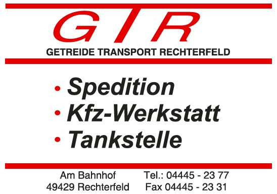 Sponsorenvorstellung Getreide Transport Rechterfeld